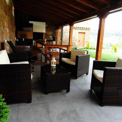 Zona Chill-Out donde relajarse en Casa Rural La Torra de Ribelles